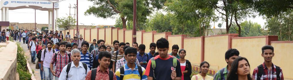 Mechanical Engineering at NMIT Bangalore, India