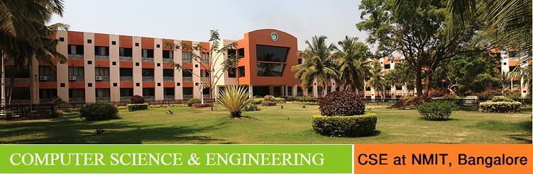 CSE admission in India at NMIT Bangalore