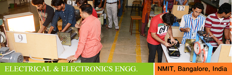Electrical and Electronics Engineering admission at NMIT Bangalore