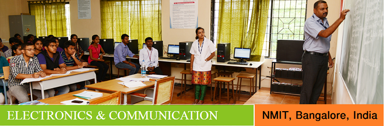 Electronics and Communication Engineering admission at NMIT Bangalore India