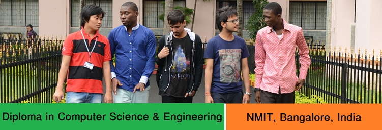 Diploma in CSE admission at NMIT Bangalore India