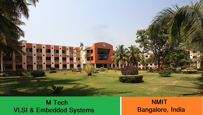 VLSI Design and Embedded Systems admission at NMIT Bangalore