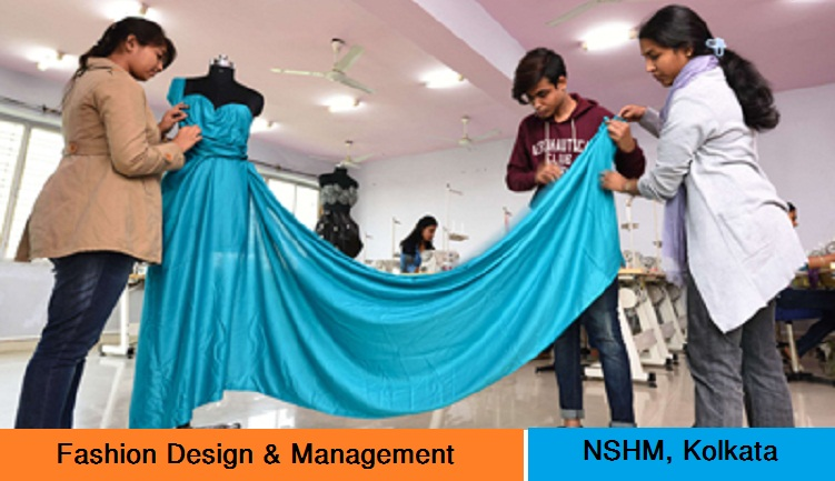 Bachelor in Fashion Design Admission at NSHM Kolkata