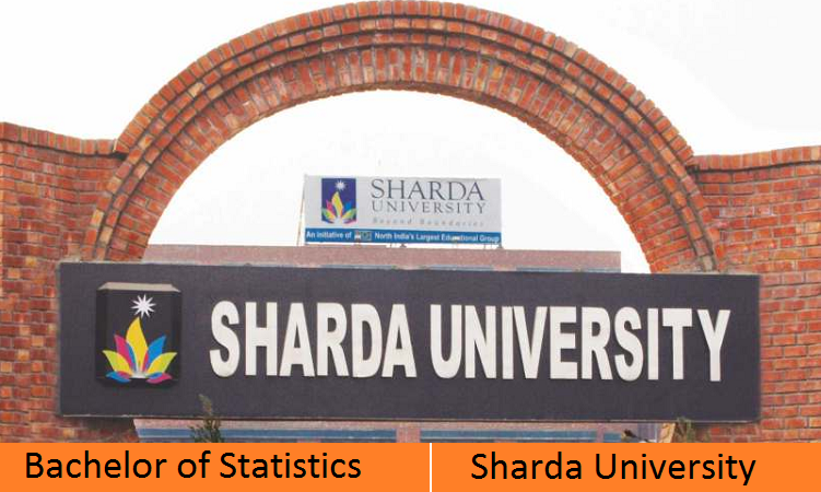 BSc Statistics admission at Sharda University
