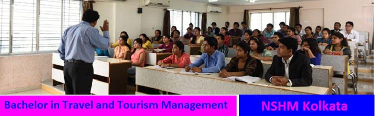 Bachelor in Travel and Tourism Management Admission at NSHM Kolkata