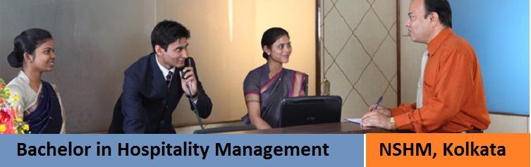 Bachelor in Hospitality Management Admission at NSHM Kolkata