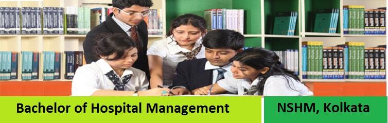 Bachelor of Hospital Management Admission at NSHM Kolkata