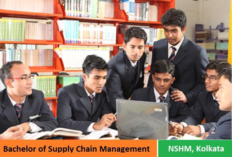 Bachelor of Supply Chain Management Admission at NSHM Kolkata