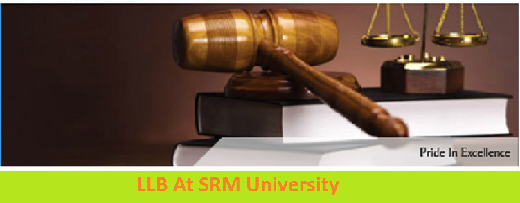 B.A LLB Admission at SRM University