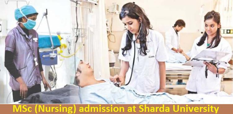 MSc (Nursing) admission at Sharda University