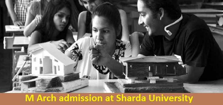 M Arch admission at Sharda University