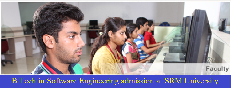 B Tech Software Engineering at SRM University
