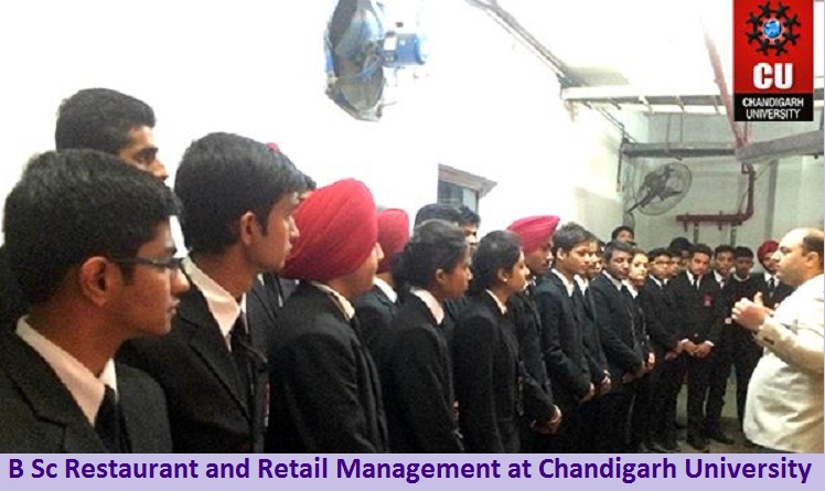 B Sc Restaurant and Retail Management Admission at Chandigarh University