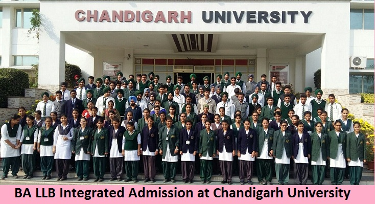 BA LLB Integrated Admission at Chandigarh University