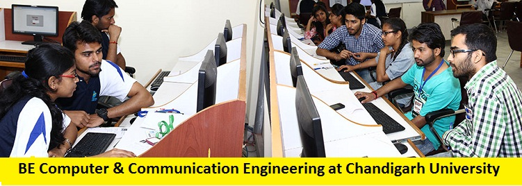 BE Computer and Communication Engineering Admission at Chandigarh University