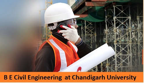 BE Civil Engineering Admission at Chandigarh University