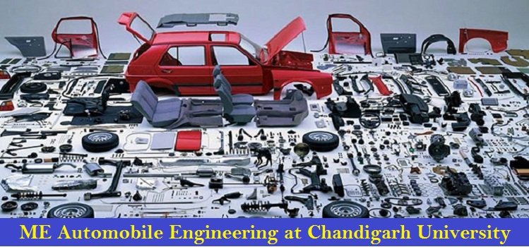 ME Automobile Engineering Admission at Chandigarh University