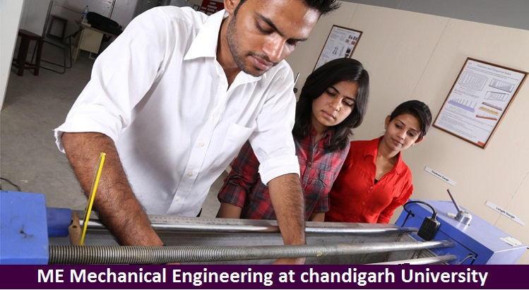 ME Mechanical Engineering Admission at Chandigarh University