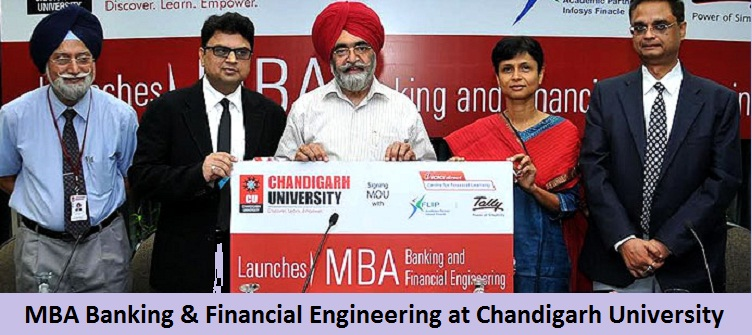 MBA Banking and Financial Engineering Admission at Chandigarh University