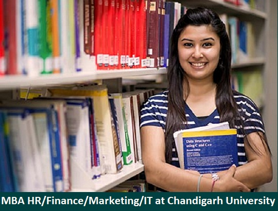 MBA Human Resource Marketing Finance Information Technology admission at Chandigarh University