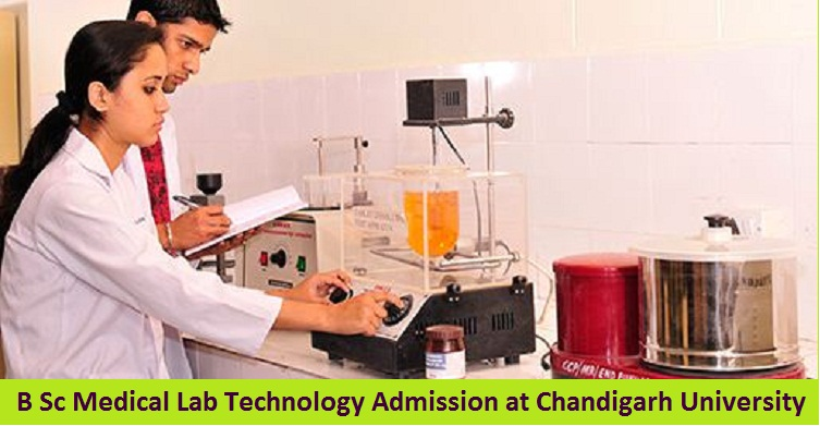 B Sc Medical Lab Technology Admission at Chandigarh University