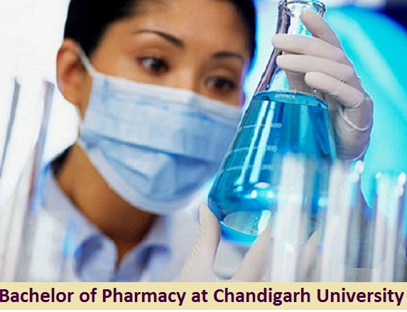 Bachelor of Pharmacy Admission at Chandigarh University