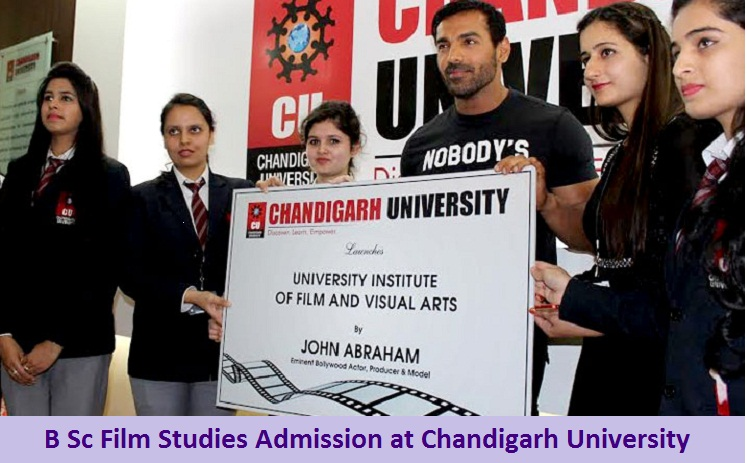 B Sc Film Studies Admission at Chandigarh University