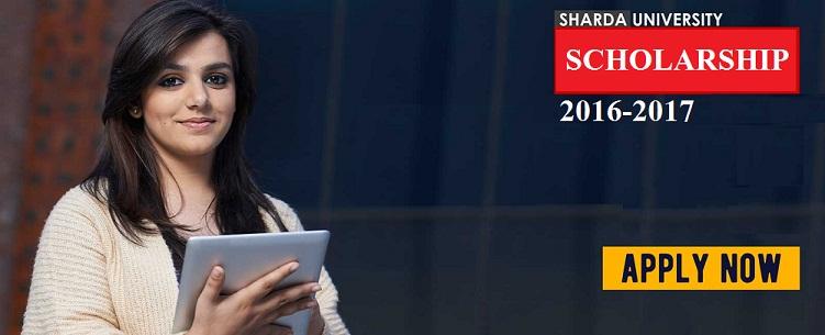 Sharda University Scholarship 2016