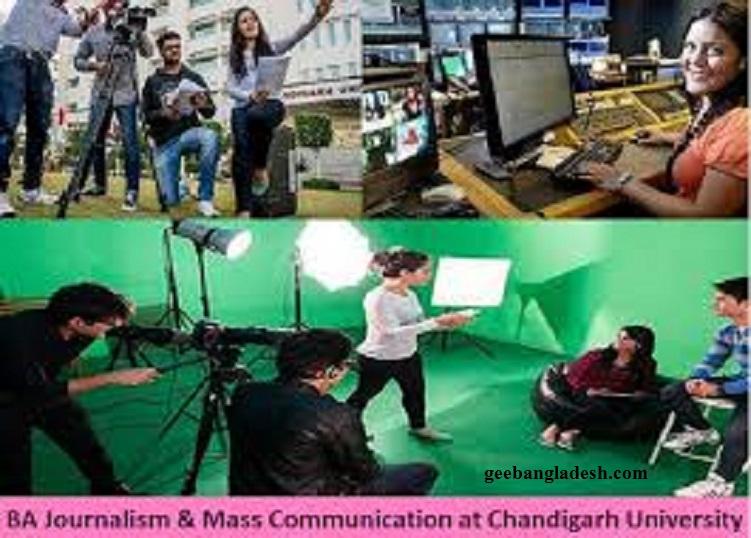 BA Journalism and Mass Communication at Chandigarh University
