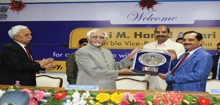 M Hamid Ansari interacted with Sharda University students