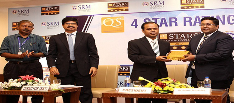 QS Rated 4 Star to SRM University
