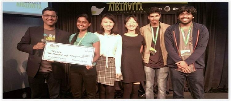 SRM University Wins MIT Media Lab Hackathon