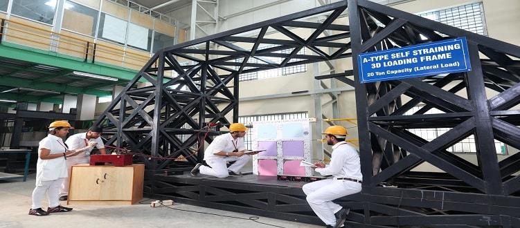 Civil Engineering Admission 2018 at SRM University