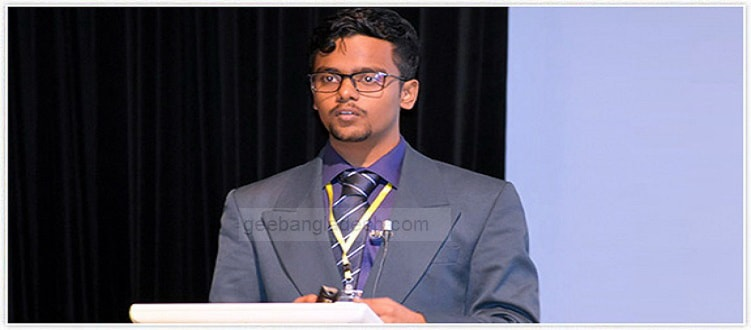 SRM University Student Wins 12th NCRM NICHE Award