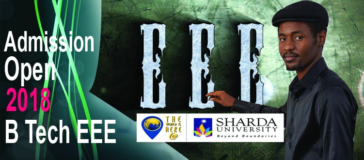 EEE admission at Sharda University