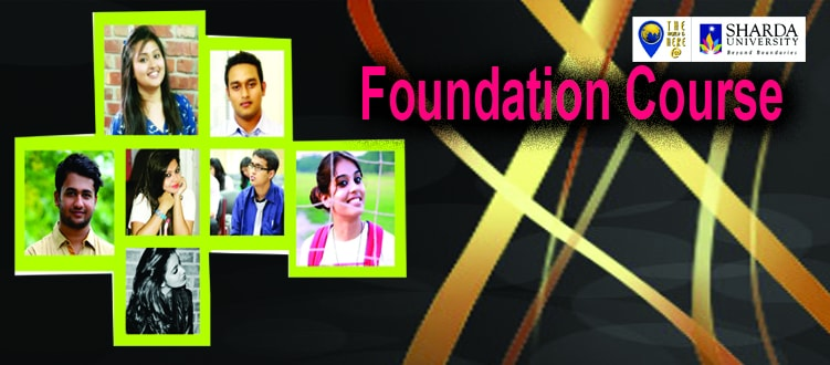 Book your seat for Foundation Course at Sharda University