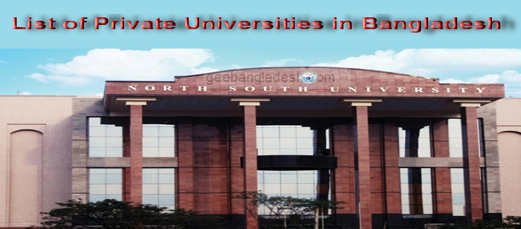 List of Private Universities in Bangladesh