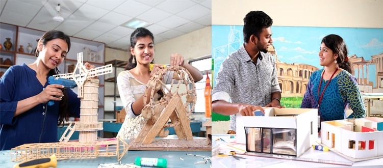 Be an Architect from SRM Institute of Science and Technology