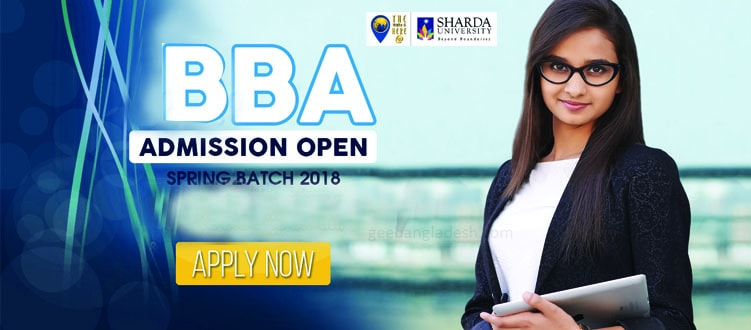 BBA Admission at Sharda University