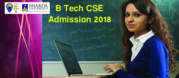 CSE Admission at Sharda University 2018