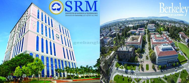 Twenty Students from SRM Set Foot on UC Berkeley