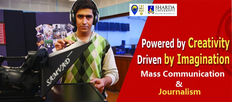 Be a Journalist at Sharda University