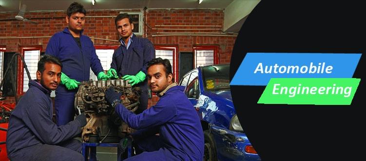 Automobile Engineering Scholarship at Sharda