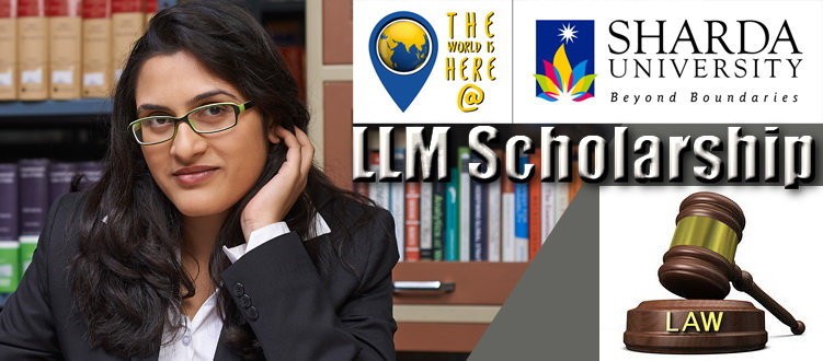 LLM Scholarship at Sharda University