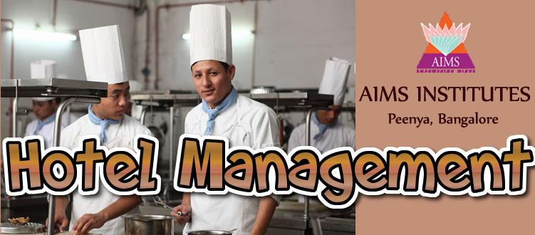 Hotel Management at AIMS Institutes