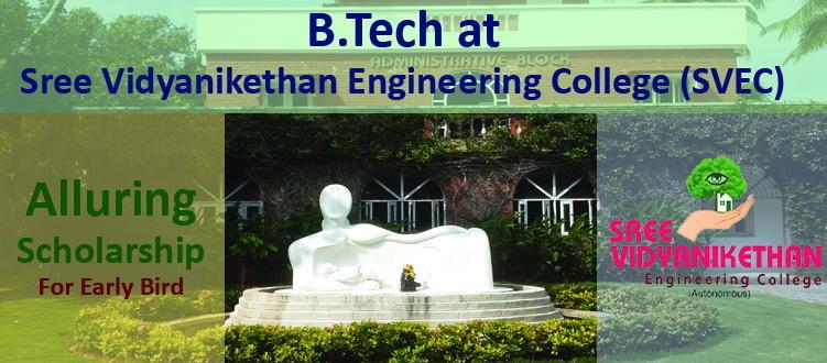 Scholarship at B.Tech Engineering