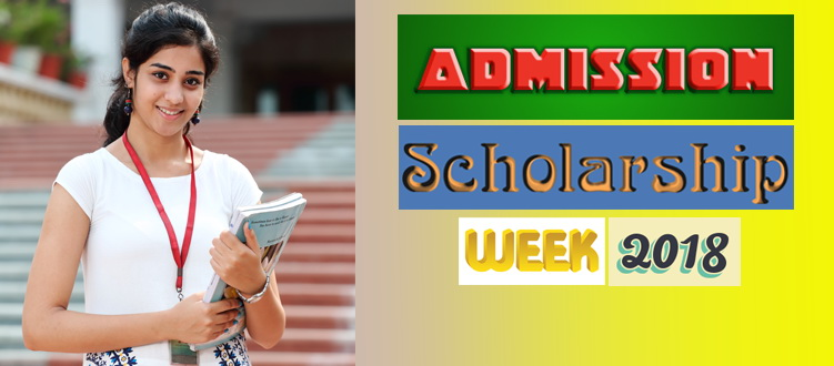 India Admission and Scholarship Week 2018 begins June 22