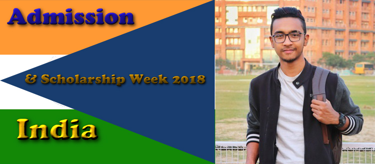 Admission and Scholarship Week, India 2018