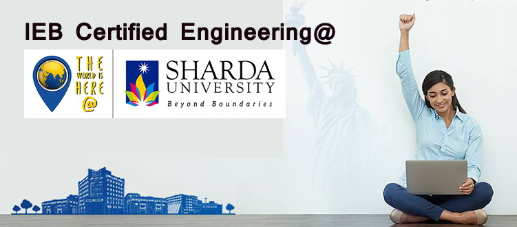 IEB Certified Engineering at Sharda University