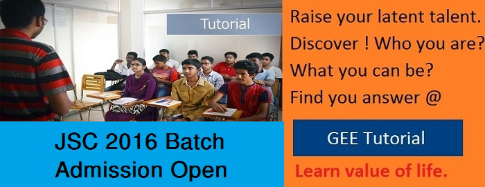 JSC tutorial admission still open